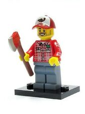 Genuine Lego 8805 Series 5 Minifigure no. 8 Lumberjack