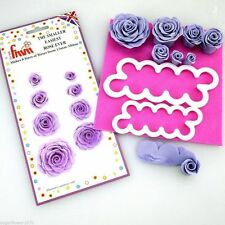 FMM Smaller Easiest Rose Ever Sugarcraft cutters  x 2    FAST DESPATCH