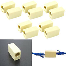 10stk Cat5 5e RJ45 Netzwerk Kabel Stecker Ethernet Lan Cable Plug Connector Neu