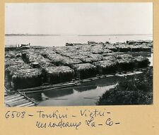 INDOCHINE c. 1940 - Vietri Radeaux de Bambous - INDO 31
