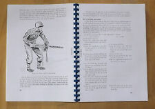 30 calibre.Browning machine gun.Field manual.M1919A4.M1917A1.M1919A6.
