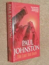 Paul Johnston THE LAST RED DEATH 1st Edn UKHC