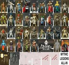 Mythic Legions ALL IN SET 35 Figures 6 Weapons Pack Four Horsemen New