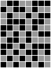 """Mosaic Tile Stickers Transfers for 150mm x 200mm / 6"""" x 8"""" / 6 Inches x 8 Inches"""