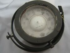 LARGE HANDLED  ANTIQUE GIMBALED SHIP'S COMPASS - No. SP-4979