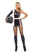 Leg Avenue First Place Racer Ladies Costume: Medium/Large (UK 10-12)