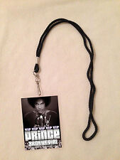 *PRINCE HIT & RUN VIP PASS AND LANYARD! BACKSTAGE ALL ACCESS RARE! PURPLE RAIN*