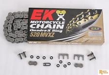 Ek Chain 520 Mvx Quadra Xring  92 Links Natural 520Mvxz-92 520Mvx X K520MVX92