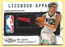 03/04 Patchworks Licensed Apparel #PG Pau Gasol Jersey Number Patch #024/100