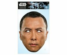 Chirrut Imwe Star Wars Rogue One Single 2D Card Party Face Mask Donnie Yen