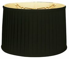 Royal Designs Shallow Drum Side Pleat lamp shade (BS-749)