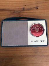 Vintage Retro HMV Transistor Radio