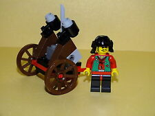 Lego 3016 boss with Cannon, ninja con cañón (1184 1099 cart Blaster Robber)