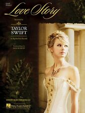 Love Story  Easy Piano Sheet Music Taylor Swift NEW 000110161