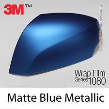 10x20cm FILM Matte Blue Metal 3M 1080 M227 Vinyle COVERING New Series Wrap Film