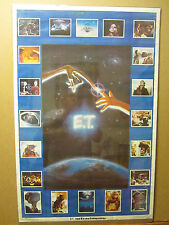 Vintage E.T. the Extra terrestrial 1982 movie poster Universal studios 999