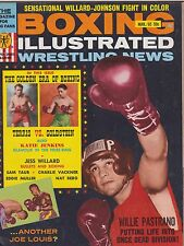 MARCH 1965 BOXING ILLUSTRATED WRESTLING NEWS vintage magazine -- WILLIE PASTRANO