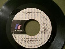 K.C. & THE SUNSHINE BAND THAT'S THE WAY & WHAT MAKES YOU HAPPY 45 RECORD 1975