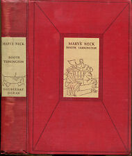 Mary's Neck by Booth Tarkington-First Edition-1932-Wallace Morgan Frontis