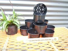 FAON FERN/Orchid 125mm Port squat Pots, the original and the best.