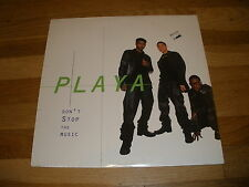 PLAYA dont stop the music LP Record - Sealed