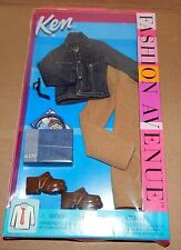 Fashion Avenue Ken Denim Jacket & Pants Mattel 2002 NIB 25752 Barbie 76E