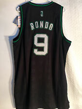 Adidas Swingman NBA Jersey Boston Celtics Rajon Rondo Black Rhythm sz 2X