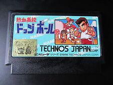 Nekketsu Koukou Dodgeball-bu                 -   pour  FAMICOM  / JAPONAIS