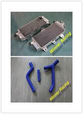 Fit Yamaha YZ250F YZ250 F 2010-2013 ALUMINUM RADIATOR + SILICONE HOSE BLUE