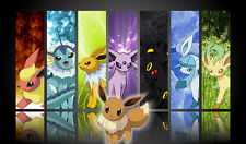 Pokemon GO Eeveelutions GENERATIONS Custom Playmat/Mouse Pad #23 FREE SHIPPING
