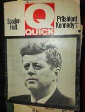 QUICK Sonderheft 25.11.1963 Präsident Kennedy + Zeitschrift ungebunden