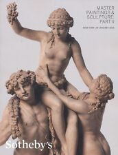 Sotheby's Catalogue Master Paintings & Sculpture; Part II 2015 HB