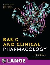 Basic and Clinical Pharmacology, 11th Edition (Lange Basic Science), Trevor, Ant