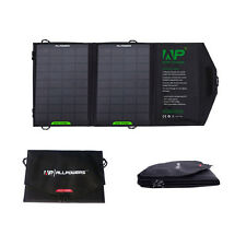 Slim 8W Solar Panel Foldable Charger Backup for 5V USB-charged Device iPhone