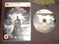 Batman Arkham Asylum for PC, DVD-ROM - VGC