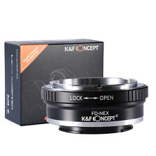 FD-NEX FD Mount Lens to Sony NEX-3 NEX-5 NEX-VG10 Camera E Mount Adapter Ring