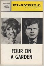 "Carol Channing & Barry Nelson  ""Four On A Garden""  Playbill  TRYOUT  1970 PHILLY"