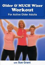 Older & Much Wiser Workout for Active Older Adults (2010, REGION 1 DVD New)