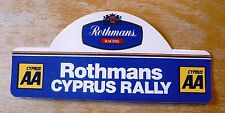 Rothmans Aa Chipre Rally Motorsport Sticker Decal