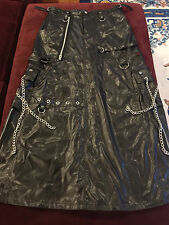 TRIPP NYC BONDAGE - DOMINATRIX FULL SIZE SKIRT - HOT TOPIC - RARE!
