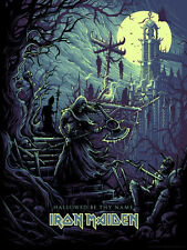 Iron Maiden Hallowed Be Thy Name Poster Screen Print Dan Mumford #/200 SIGNED