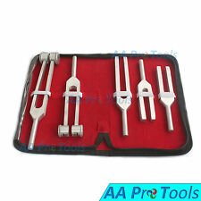 AA Pro: Tuning Fork Chakra Set 5 Aluminium Stainless Steel Diagnostic