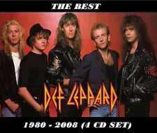 Def Leppard [REMASTERED] - The Best 1980 - 2008 (4 CD Set) Sealed! New!