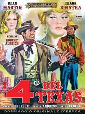 Dvd I 4 DEL TEXAS (1963) Western Frank Sinatra ** A&R Productions **...NUOVO