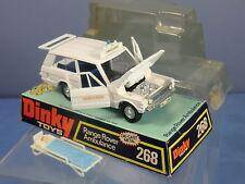 Dinky toys modèle n ° 268 RANGE ROVER AMBULANCE VN MIB