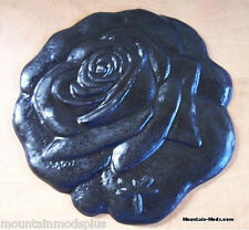 "CONCRETE STAMP Rose Bud 11"" BORDER ART STAMPS MATS New"