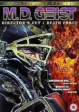 M.D. Geist - Director's Cut / Death Force (DVD,2006, Animated)