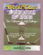 World Class Leader Board (U.S. Gold 1987) Amstrad DISK Disc - GC & Complete