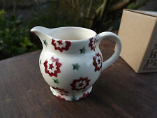 Emma Bridgewater Red & Green Star Tiny Jug Never Used & Boxed