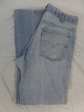vintage 70s LEVIS ORANGE TAB TALON 42 ZIP BELL BOTTOMS DENIM JEANS PANTS (32x30)